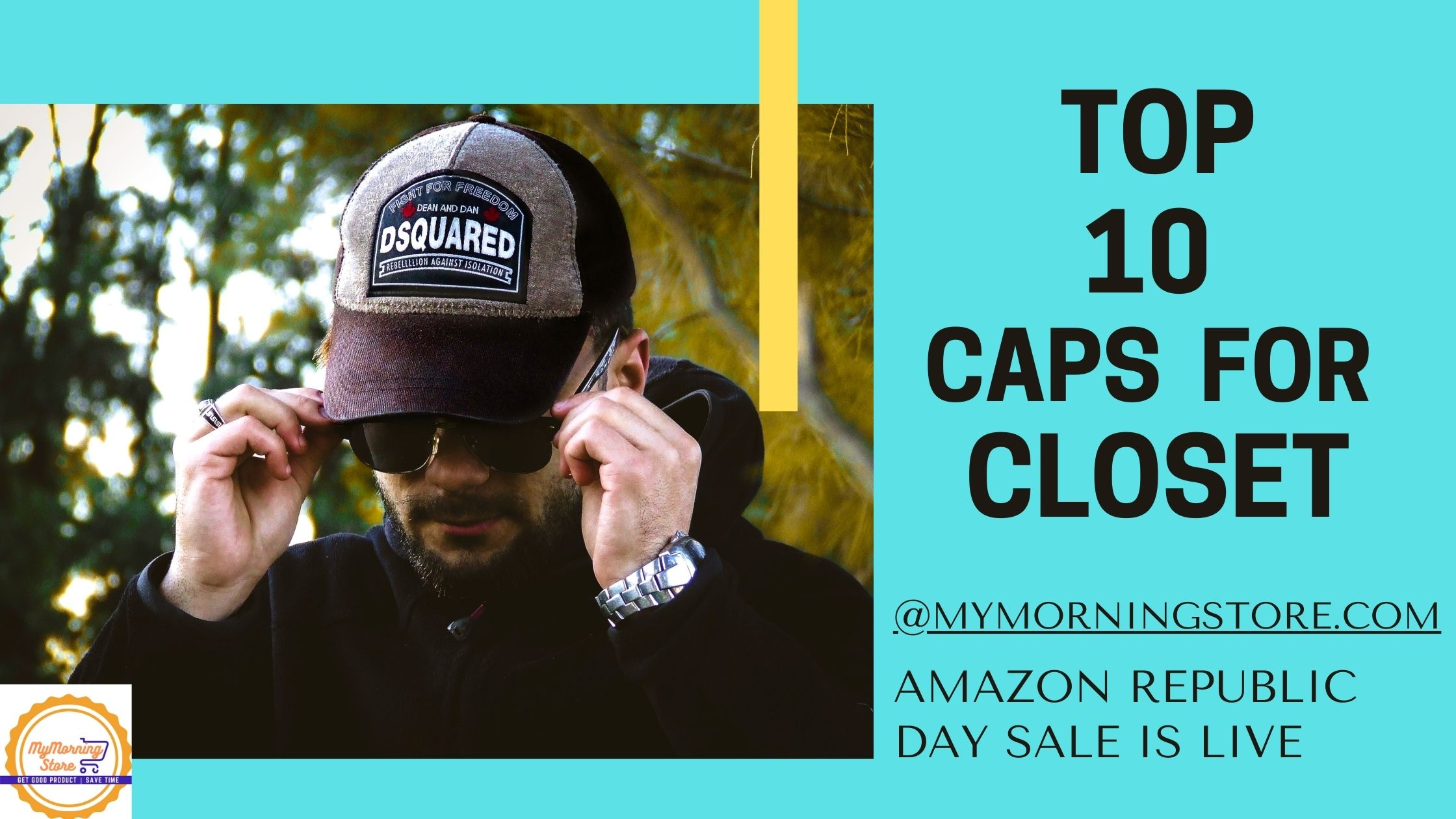 Top 10 Caps for Closet @mymorningstore